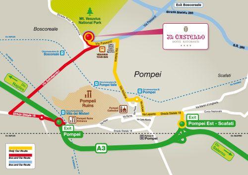 Cartina Campania Pdf.Hotel Near Pompeii Pompeii Ancient Ruins Sanctuary Of